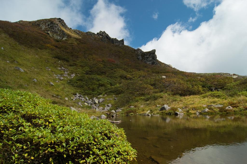 2015年 登山沼への第一歩… 岩木山登山