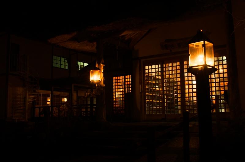 青荷温泉 ~青森県・黒石市~ 「ランプの宿」