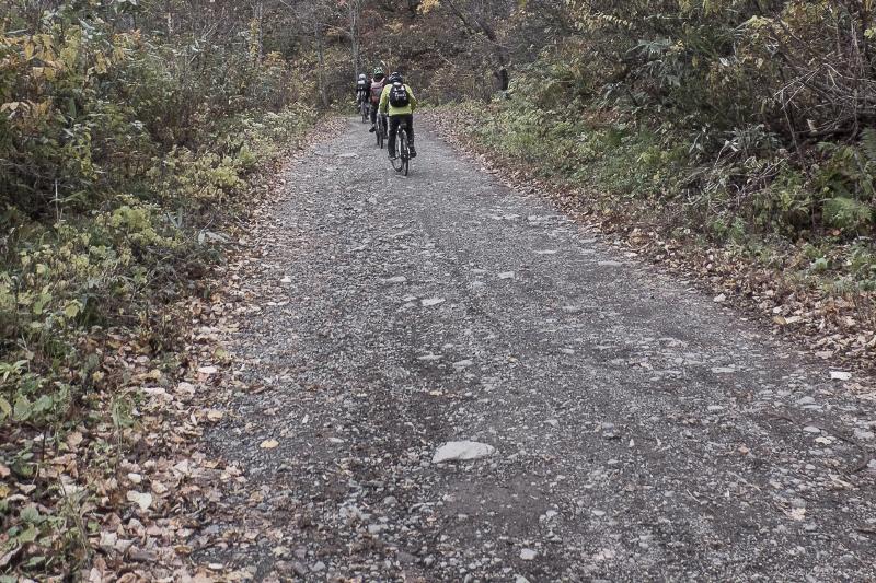 弘西林道 白神ライン 42km走破後編